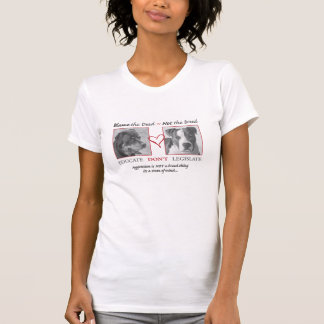 Rottweiler und Pitbull T-Shirt