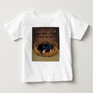Rottweiler Welpe Baby T-shirt