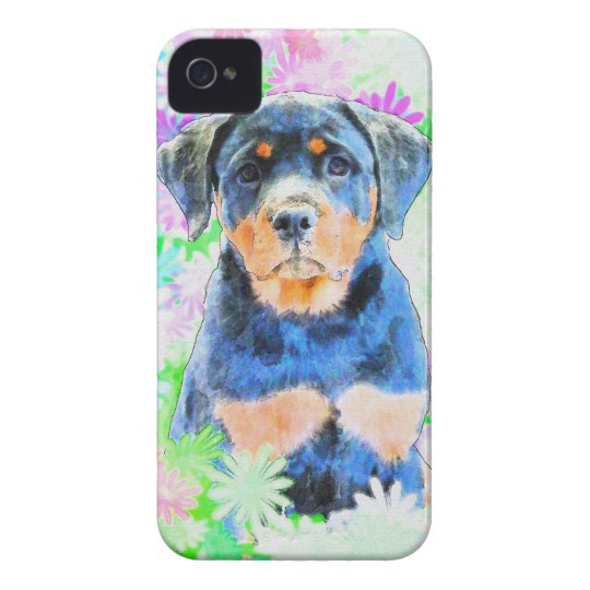 Rottweiler Welpe Case-Mate iPhone 4 Hüllen