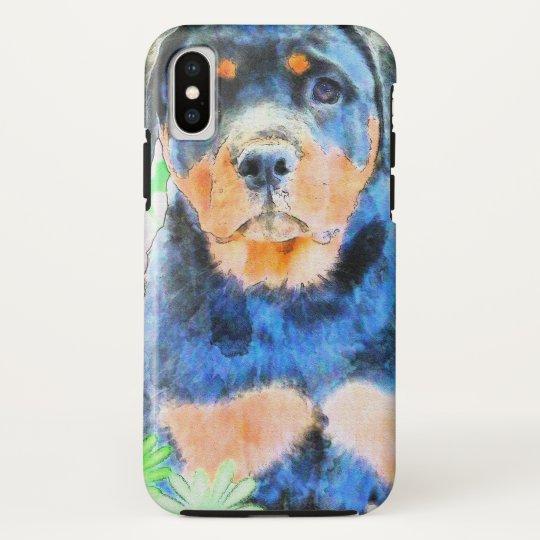 Rottweiler Welpe HTC Vivid / Raider 4G Cover