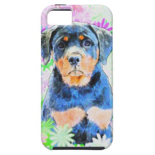 Rottweiler Welpe iPhone 5 Etui