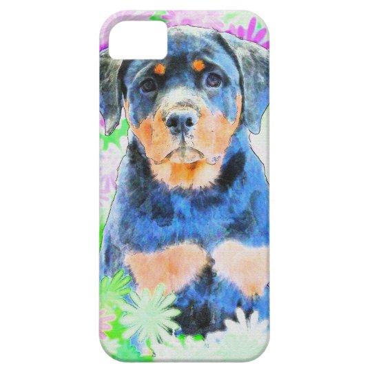 Rottweiler Welpe iPhone 5 Schutzhülle