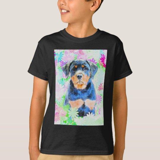 Rottweiler Welpe T-Shirt