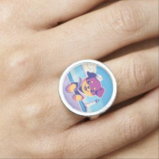 Rottweiler Welpen-Seehundeseemann Ring