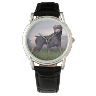 Rottweiller Hund Armbanduhr