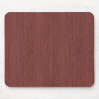 Rotwein-Bambusblick-Holz-Korn Mauspads