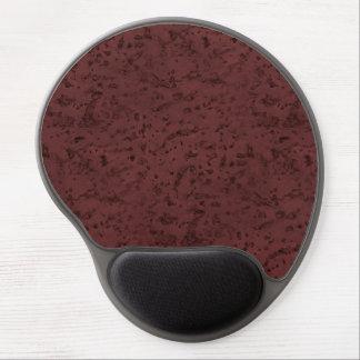 Rotwein-Korken-Blick-Holz-Korn Gel Mouse Pads