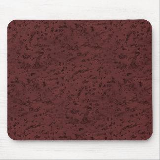 Rotwein-Korken-Blick-Holz-Korn Mauspad