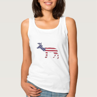 "Rotwild ""amerikanische Flagge "" Tanktop"