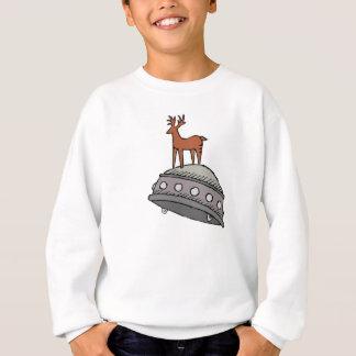 Rotwild auf UFO Sweatshirt