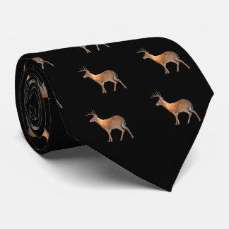 Rotwild (Dollar) Weiß-Angebunden Krawatte