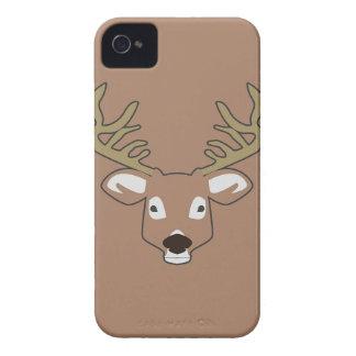 Rotwild drak Braun iphone 4 Fall iPhone 4 Case-Mate Hüllen