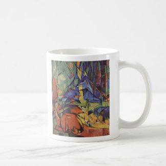 Rotwild - Franz Marc Kaffeetasse