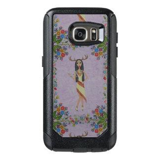 Rotwild-Frau (Märchen-Mode-Reihe #5) OtterBox Samsung Galaxy S7 Hülle