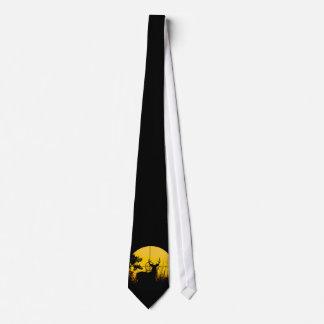 Rotwild in der Fadenkreuz-Krawatte Krawatte