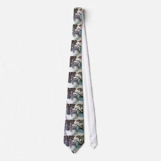 ROTWILD in der WINTER-Krawatte Krawatte