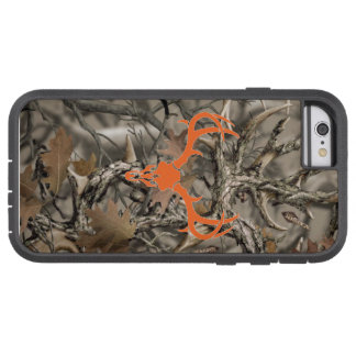 Rotwild-Jagd-Camouflage-Schädel Tough Xtreme iPhone 6 Hülle