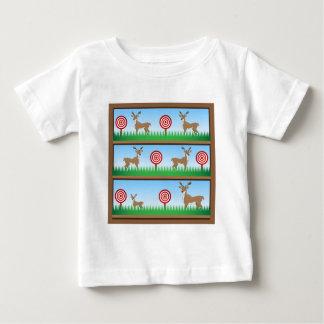 Rotwild-Jagd-Schießstand Baby T-shirt