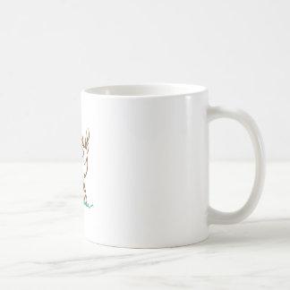 Rotwild-Kontur Kaffeetasse