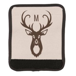 Rotwild mit Ihrer Monogrammgepäck-Griffverpackung Gepäckgriff Marker