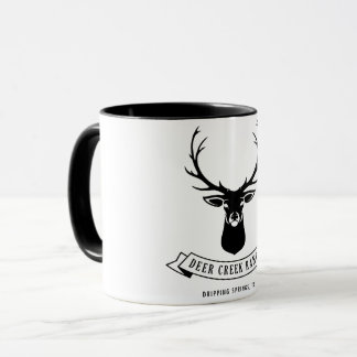 Rotwild-Nebenfluss-Ranch-Tasse Tasse