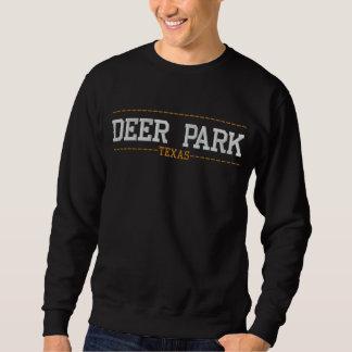 Rotwild-Park Texas USA stickte Sweatshirts