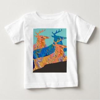 Rotwild-Show - Flug der bunten Tiere Baby T-shirt