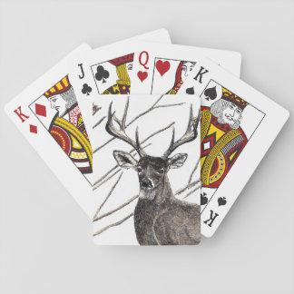 Rotwild-Spielkarten Spielkarten