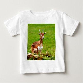 Rotwild warteten Mamma und Liebe Baby T-shirt