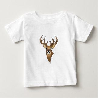 Rotwildkopf Baby T-shirt