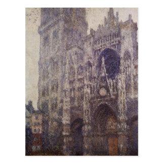 Rouen-Kathedrale, das Portal und das Ausflug Postkarte