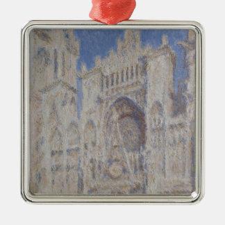 Rouen-Kathedrale das Portalsonnenlicht Silbernes Ornament