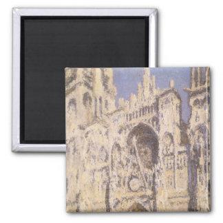 Rouen-Kathedrale, Harmonie-blaues Gold durch Quadratischer Magnet