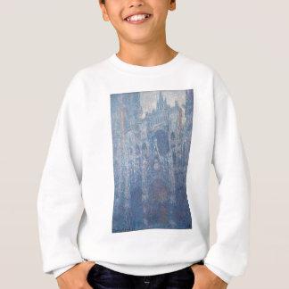 Rouen-Kathedrale, voller Tag durch Claude Monet Sweatshirt