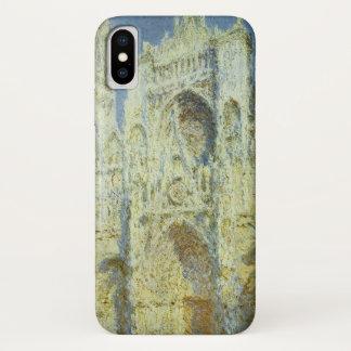 Rouen-Kathedralen-Westfassaden-Sonnenlicht, Claude iPhone X Hülle