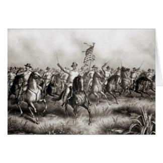 Rough Riders: Oberst Theodore Roosevelt Grußkarte