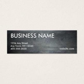 Roughed herauf Metallbeschaffenheits-Minikarten Mini Visitenkarte