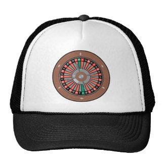 Roulette-Rad - Kasino-Spiel zum zu gewinnen Netzmützen
