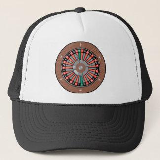Roulette-Rad - Kasino-Spiel zum zu gewinnen Truckerkappe