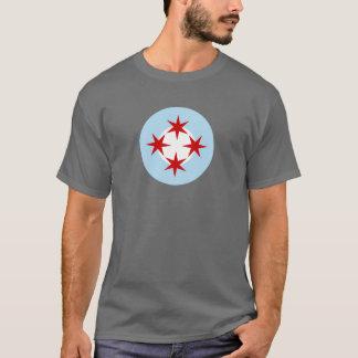 Roundel der Chicago-Luftwaffe (Bomben-Flügel) T-Shirt