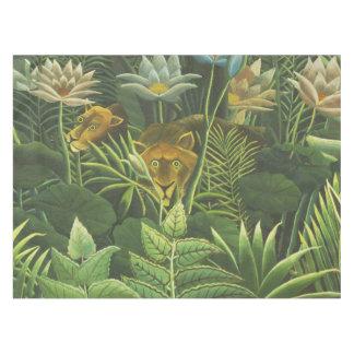 Rousseau Dschungel-tropisches Tischdecke