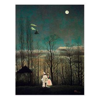 Rousseau Karnevals-Abend Postkarte