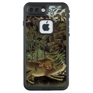 Rousseaus hungrige Löwe-Telefon-Hüllen LifeProof FRÄ' iPhone 8 Plus/7 Plus Hülle