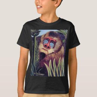 """Rousseaus """"Mandrill im Dschungel"""" (circa 1909) T-Shirt"""