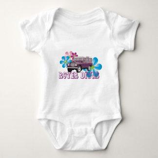 Rover-Divas Baby Strampler