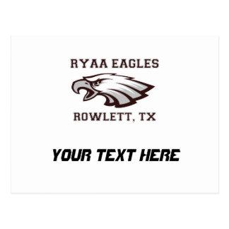 Rowlett Jugend-athletische Vereinigung Ryaa Eagles Postkarte