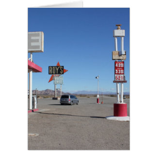 Roy´s Cafe Route66 Karte