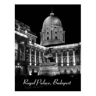 Royal Palace - Budapest Postkarte