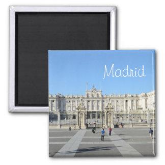 Royal Palace, Madrid Quadratischer Magnet