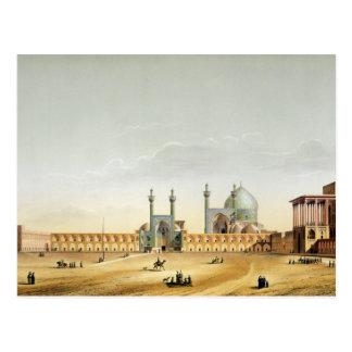 Royal Palace und das Mesdjid-i-Shah, Isfahan, Postkarte